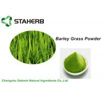 Water Soluble Vegetable Extract Powder , Green Barley Grass Powder Losing Weight Manufactures