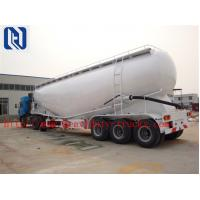 3 Axle SINOTRUK Bulk Cement Tank Semi Trailer Trucks With 55-65CBM Weichai Engine And Wuhu Air Compressor Manufactures