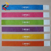Fashion Wearable RFID Paper Wristband for Sports Event Manufactures