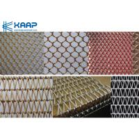 China Aluminum Material Decorative Metal Mesh Screen For Architectural Curtain Wall on sale