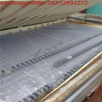 Zinc5% aluminum mischmetal alloy welded wire gabions with spiral binders, lacing wire and stiffeners Manufactures