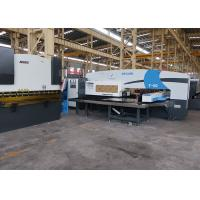 Siemens Electrical CNC Punch Press Machine / Sheet Metal Turret Punch Manufactures