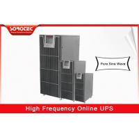 No Break 20kva 18kw 380vac uninterruptible power supplies , high frequency ups for Telecom Manufactures