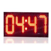 High Brightness Large Stopwatch Clock With Hanging Brackets CE / ROHS Approved Manufactures