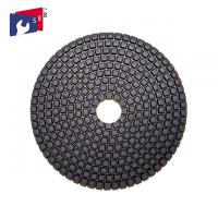 China 5'' Dry Polishing Pad Diamond Powder 80 - 220 Mm For Concrete Quartz on sale