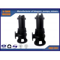 Casting Submersible Sewage Pump , flow rate 40m3/h centrifugal water pump Manufactures