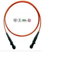 MTRJ Core Multi Mode Fiber Optical Patch Cord For Communication System Manufactures
