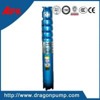 China Vertical submersible deep well lift water pump, cast iron high head centrifugal pump on sale