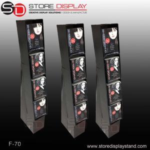 books currugated cardboard displays stand shelf Manufactures