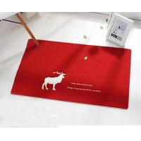 Buy cheap New High Quality Machine Made Door Mat Custom Eco-Friendly Floor Mat With  PVC Backing from wholesalers