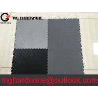 Waterproof Anti Slip PVC Interlocking Floor Mats for Garage Floor Gym and Car washing room