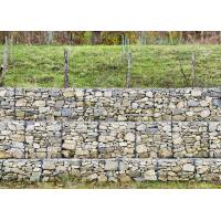 Hot Dipped Galvanized Welded Mesh Gabion Stone Basket For Landscape Construction Manufactures