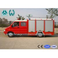 China Oil Saving Iveco Rescue Fire Truck Man - Machine Communication for sale