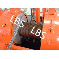 Oil Drilling Equipment Offshore Winch Tractor Hoist Winch / Well Servicing Unit Winch Manufactures