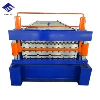 China Automatic Machining Center Aluminum Roofing Sheet Making Machine Stable Performance on sale