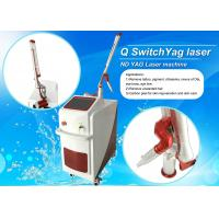 Q - Switched ND Yag Laser Pigmentation / Tattoo Temoval  Machine Manufactures