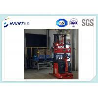 Red Auto Guided Vehicle For Multifunction , Material Handling Equipment Manufactures