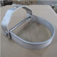Quality U Shape Adjustable Clevis Pipe Hanger Zinc Plated For Suspension Wires for sale