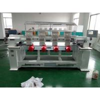 Four Heads / Single Head Computer Embroidery Machine Support Multi Languages Manufactures