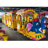 China Elephant Trackless Train Ride Dual Hydraulic System For Shopping Center on sale