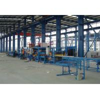 China Roof And Wall Sandwich Panel Production Line, Polystyrene EPS Sandwich Panel Line on sale