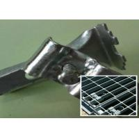Stainless Steel Bar Grating Clips , End Plate Welding Bar Grating Fasteners Manufactures
