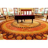 Modern Contemporary Area Rug 80% Wool 20% Nylon For Hotel Guesroom Manufactures