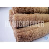 China 80% polyester 20% polyamide 30*40 microfiber 450gsm coral fleece piped square  towel wholesale