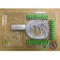 1X64 Single Mode Fiber Coupling 0.9mm package D Input and output Fiber Length 1m Manufactures