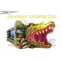 Removable Mobile 5D Cinema With Hydraulic / Pneumatic System Motion Theater Chair Manufactures