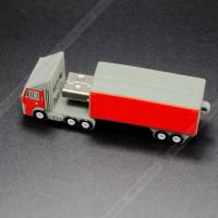 Creative USB 3.0  Truck USB Flash Drive  bulk 128GB For Advertising Gift Manufactures