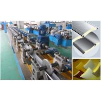 China Polyurethane Foam Filled Rolling Shutter Slat Machine 0-7m/Min Forming Speed on sale