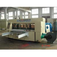 China Electric Pallet Carton Box Making Machine , 5KW Rotary Die-Cutter Steel on sale