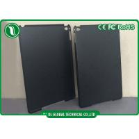 Matte PC Black Clear Tablet Protective Cases for iPAD 6 , iPad Air 2 Manufactures