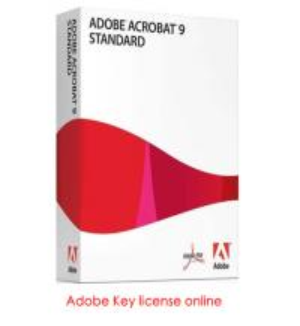 Adobe product License key, serial key of Adobe Acrobat 9 Standard, about adobe acrobat, download adobe acrobat Manufactures