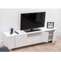China Classic Modern TV Stand Furniture With MDF White Color 47cm Height / 39.5cm Width on sale