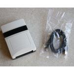 UHF RFID Desktop Reader Writer With Rs232 / Usb Interface Desktop UHF RFID Reader Manufactures