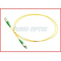 China Armored Duplex Fiber Patch Cord / Multimode Distribution Fiber Optic Cable on sale