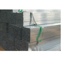 ST52 ASTM A53 Galvanized Steel Pipes / Glass Curtain Wall Small Diameter GI Tubes Manufactures