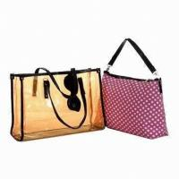 China Stylish PVC Girls School Messenger Bags Summer / Spring Casual Sport on sale