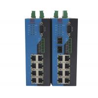 RS232 RS422 RS485 Serial Ethernet Switch / 10 Port Industrial Grade Ethernet Switch Manufactures