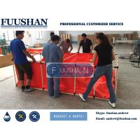 China Fuushan Customized Flexible Collapsible PVC Steel Frame Fish Tank For Sale on sale