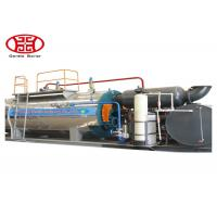Fire Tube Oil Steam Boiler , Industrial 1 Ton Gas Heating Boiler Manufactures