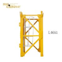 China ISO9001 Tower Crane Mast Section For Mast Section L46A1 Plate Type on sale