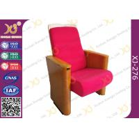 China Customized Fabric Auditorium Theatre Seating For Auditorium / Lecture Hall Area on sale