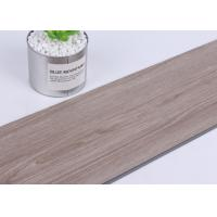 Fireproof SPC Grey Vinyl Flooring 6mm Thickness No Noxious Or Chemical For Kitchen Manufactures