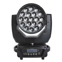 19x15W Moving Head Stage Lights 19Pcs 15W RGBW Led Wash Zoom Moving Head Manufactures