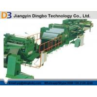 China PLC Control Leveling Steel Coil Cut To Length Machine Line With Hydraulic Decoiler on sale