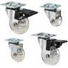 Buy cheap Transparent caster,transparent wheel,furniture castor,crystal wheel,skate castor from wholesalers