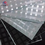 Reinforcement Warp Knitting Fiberglass Geogrid Composite Geotextile 50 Kn - 300 KN Manufactures